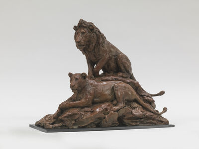 Jonathan Kenworthy, 'Lion and Lioness'
