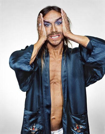 Martin Schoeller, 'Iggy Pop in Blue Robe', 2001