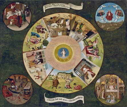 Hieronymus Bosch, 'Table of the Mortal Sins', ca. 1500