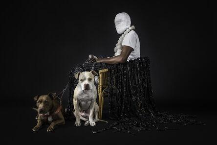 Maurice Mbikayi, 'Mask of Heterotopia 3', 2018