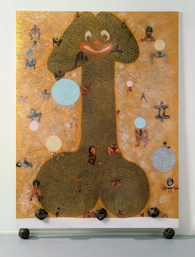 Chris Ofili, 'Pimpin' ain't easy', 1997