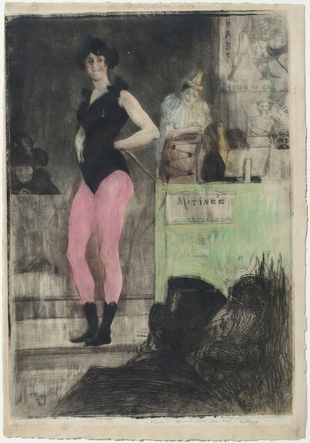 Edgar Chahine, 'Invitation après la parade (grande planche)', 1906