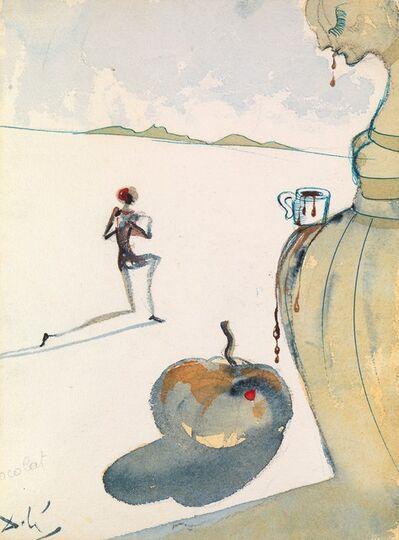 Salvador Dalí, 'Chocolat', 1966