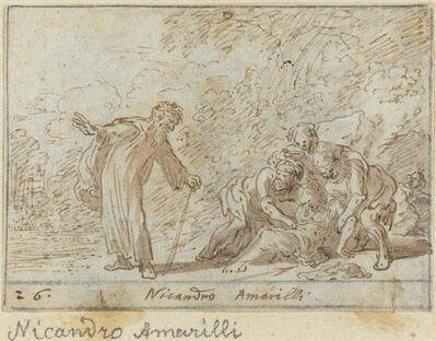 Johann Wilhelm Baur, 'Nicandro and Amarilli', 1640