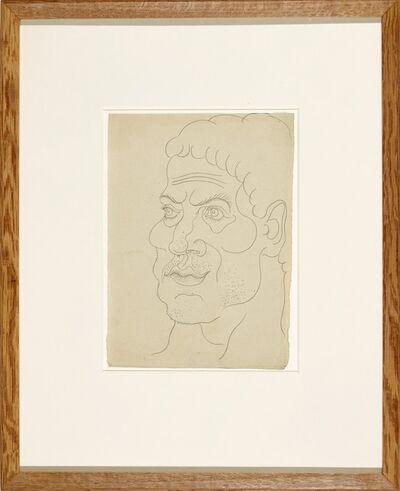 Pablo Picasso, 'Picasso, Visage D'Homme vers la Gauche, 1914', 1914