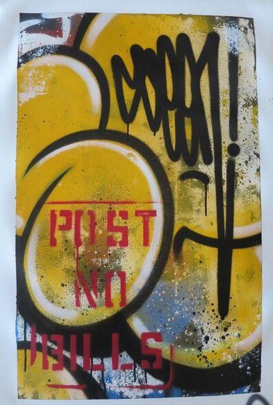 SEEN, 'Yellow Post NO Bills', 2018