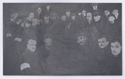 May Stevens, 'The Murderers of Rosa Luxemburg', 1986