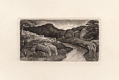 Edward Calvert, 'Sheep of his Pasture', 1828 (published 1893)