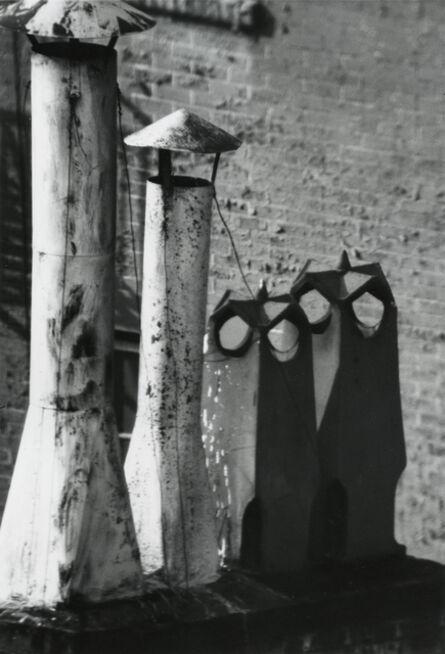 André Kertész, 'Owl Series (Chimneys), New York', 1961