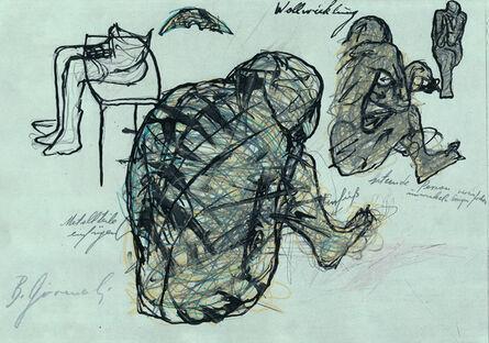 Bruno Gironcoli, 'Wollwicklung', ca. 1970