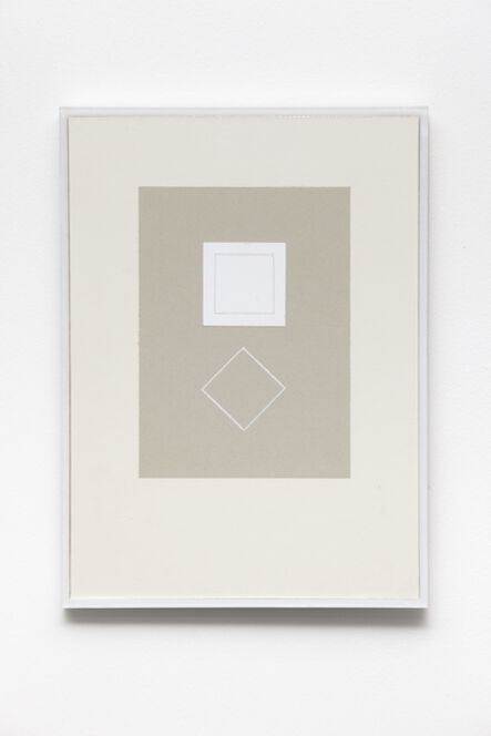 Kristján Gudmundsson, 'Cause and consequence no. 5', 1974-1975