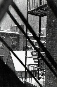 David Vestal, 'Falling Snow from Back Window, 133 West 22nd Street, NYC', 1958