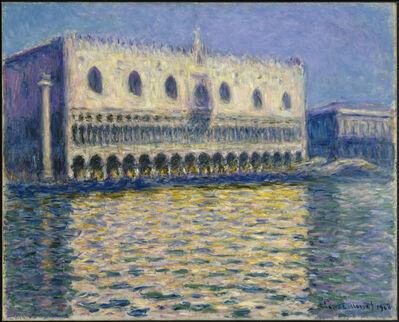 Claude Monet, 'The Doge's Palace (Le Palais ducal)', 1908