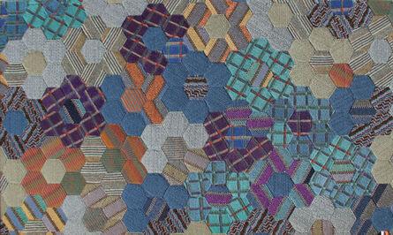 Ottavio Missoni, 'No. 1, Hexagons', ca. 1980