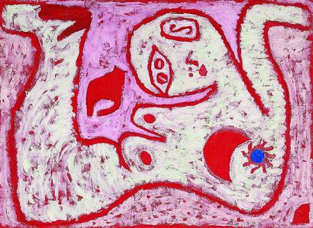 Paul Klee, 'ein Weib für Götter (A Woman for Gods)', 1938