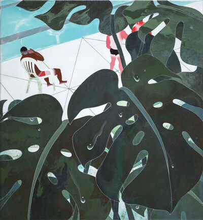 Yang-Tsung Fan, 'Plants by the Pool', 2018