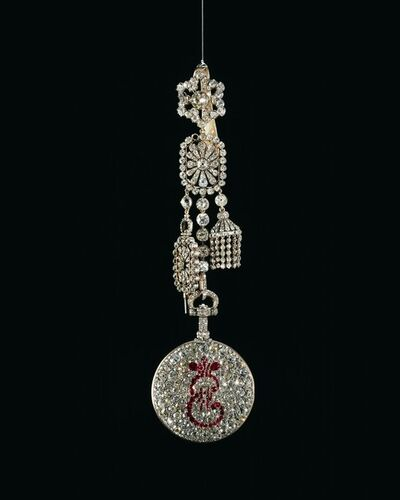'Pendant Watch with Cipher of Catherine II', 1786-1796