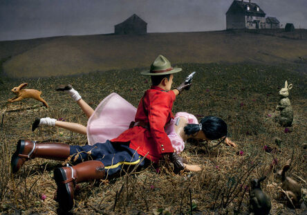 Diana Thorneycroft, 'Christina's World (gets turned upside down by Cpl. Dew Wright)', 2012