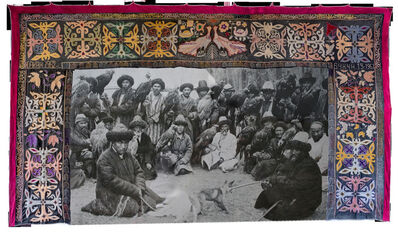 Shaarbek Amankul, 'Taming the wild (nomads with eagles)  ', 1966-2020
