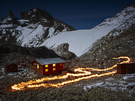 Simon Norfolk, 'The Lewis Glacier, Mt. Kenya, 1963 (A)', 2014