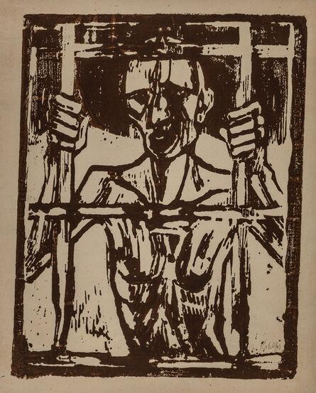 Christian Rohlfs, 'DER GEFANGENE', 1918