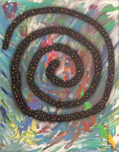 Dan Colen, 'The Big Swirl', 2006