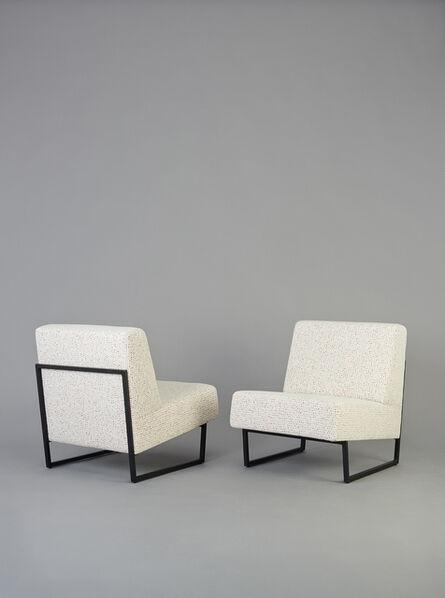 Pierre Guariche, 'Pair of chairs FG2 - Courchevel', 1959-1960