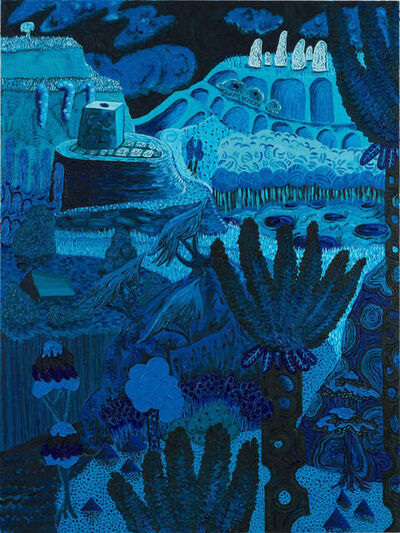 Mark Frygell, 'Blue Valley', 2021