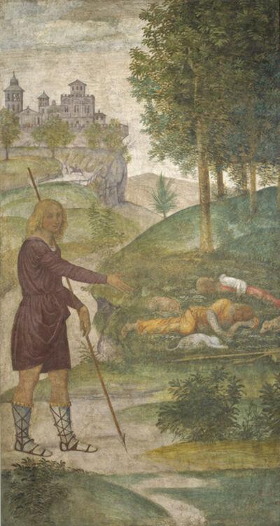 Bernardino Luini, 'Cephalus and the Nymphs', ca. 1520/1522
