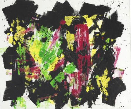 William Gear, 'Red Green Centre', 1959