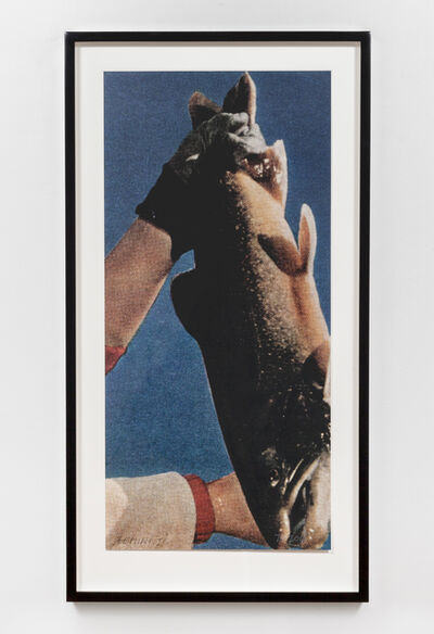 John Baldessari, 'Hands & Feet: Hands & Fish', 2017