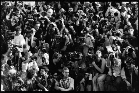 Arthur Elgort, 'Photo Pit at Louis Vuitton Show, Paris', 2003