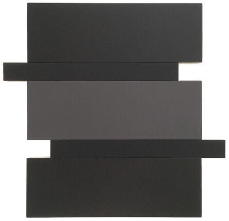 Scot Heywood, 'Stack (Black/Grey)', 2016