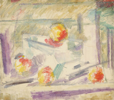 Godfrey Miller, '(Still Life with Fruit)', 1942-48