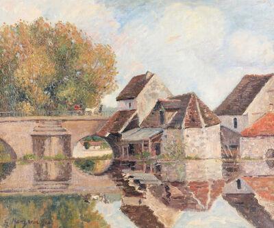 Georges Manzana Pissarro, 'Petit Lavoir du Pont Pierre, Morêt-sur-Loing', 1902