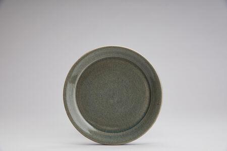 Yoshinori Hagiwara, 'Small dinnerware plate, celadon glaze', 2020