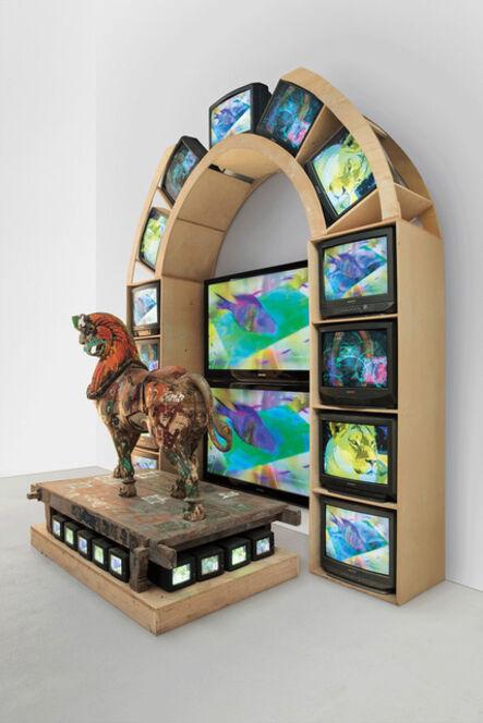 Nam June Paik, 'Lion', 2005