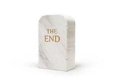 Maurizio Cattelan, 'THE END White Marble - Pouf', 2016