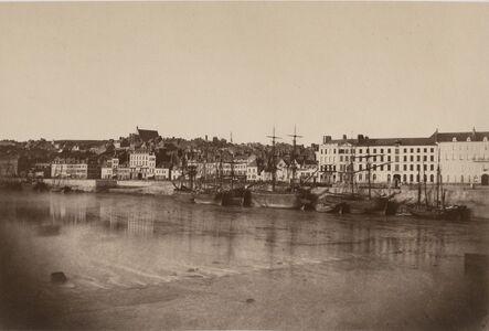 Édouard Baldus, 'Vue de Port de Boulogne', 1855