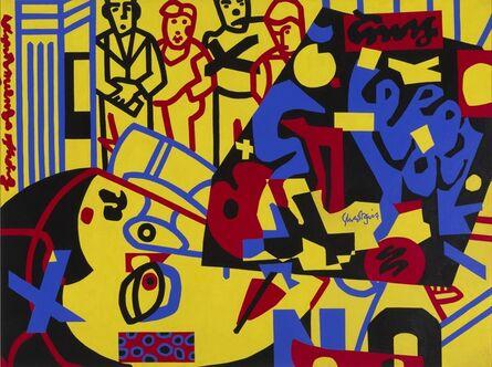 Stuart Davis, 'Tropes de Teens', 1956