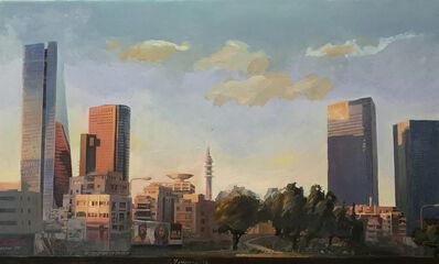 Yaakov feldman, 'Sunrise on Azrieli Towers', 1969-now