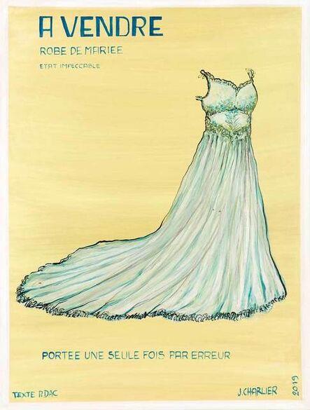 Jacques Charlier, 'Robe de mariée', 2019