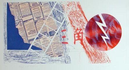 James Rosenquist, 'Wind and Lightning (State I)', 1978