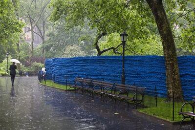 Orly Genger, 'Blue', 2013