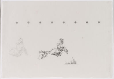 Anton Wurth, 'DürerÜbung III Meerwunder', 2017