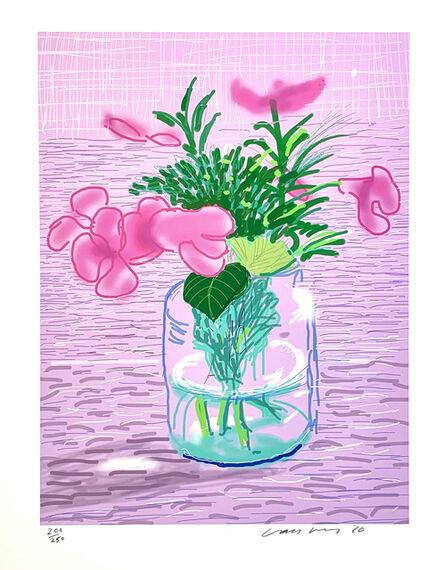 David Hockney, 'iPad Drawing, Untitled 329', 2010