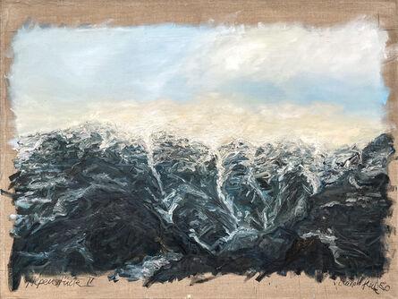 Ralph Fleck, 'Alpenstück II', 1980