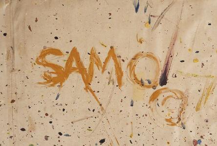 Jean-Michel Basquiat, 'SAMO'