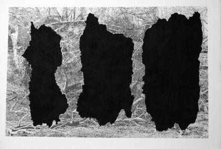 Alain Huck, 'Ménades Noires', 2016