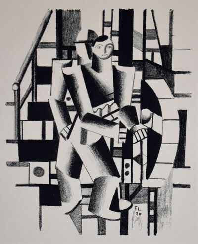 Fernand Léger, 'Composition with Two Figures, from: The Creators Vol. II No.4', 1920